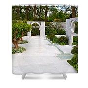 Rhs Chelsea Beauty Of Islam Garden Shower Curtain