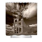 Rhyolite Nevada Ghost Town Shower Curtain