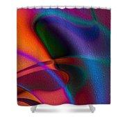 Rhythmic Trance Shower Curtain