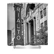 Rialto Square Theater Shower Curtain