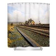 Ribblehead Station Shower Curtain