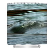 Ribbon Of Passion Shower Curtain
