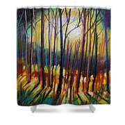 Ribbons Of Moonlight Shower Curtain