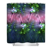 Ribbons Of Romance Shower Curtain