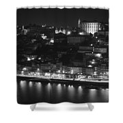 Ribeira By Night Shower Curtain