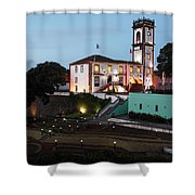 Ribeira Grande Town Hall Shower Curtain