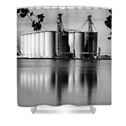 Rice Country Shower Curtain