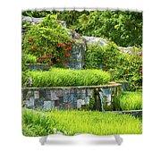 Rice Garden Shower Curtain