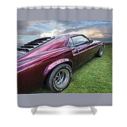 Rich Cherry - '69 Mustang Shower Curtain