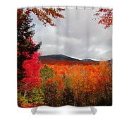 Rich Fall New Hampshire Colors Shower Curtain