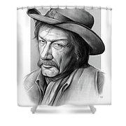 Richard Boone 3 Shower Curtain
