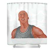 Richard Jefferson Shower Curtain