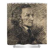 Richard Wagner  Shower Curtain