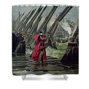 Richelieu Shower Curtain by Henri-Paul Motte