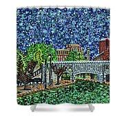 Richmond Canal Walk Shower Curtain