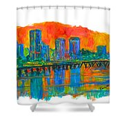 Richmond Gold  Shower Curtain
