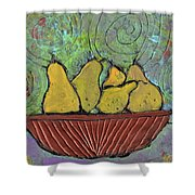 Richmond Pears Shower Curtain