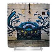 Richmond Street Art Shower Curtain
