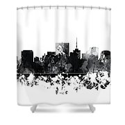 Richmond Virginia Skyline Shower Curtain