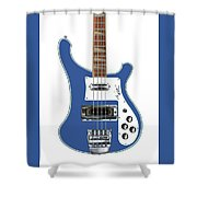 Rickenbacker Bass 4001 Body  Shower Curtain