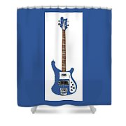 Rickenbacker Bass 4001  Shower Curtain