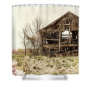 Rickety Shack Shower Curtain