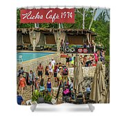 Rick's Cafe In Negril Shower Curtain