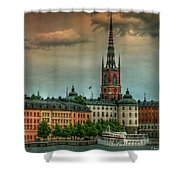 Riddarholmen Shower Curtain