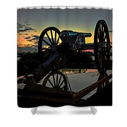 Ride Into The Sun Shower Curtain