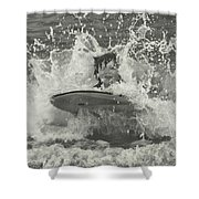 Ride The Wave Shower Curtain