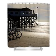 Ride Your Bike To The Beach Shower Curtain