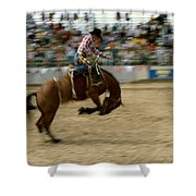 Ridem Cowboy Shower Curtain