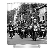 Riders Shower Curtain