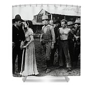 Riders Of The Purple Sage Shower Curtain