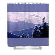 Ridge Layers 2 Pd2  Shower Curtain