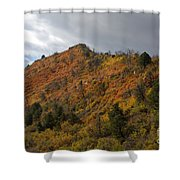 Ridge Line Shower Curtain