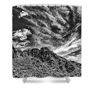 Ridge Route Shower Curtain