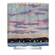 Ridge Stratocumulus Shower Curtain
