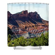 Ridges Shower Curtain