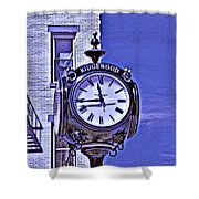 Ridgewood Time Shower Curtain