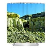 Rigid New Mexico Shower Curtain