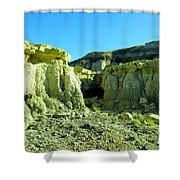 Rigid New Mexico Shower Curtain