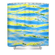 Riding A Wave Shower Curtain