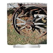 Riding Days Are Over Shower Curtain