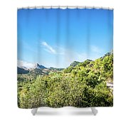 Riding The Roads Of Andalucia Shower Curtain