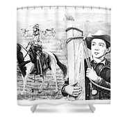 Rifleman-mark-mccain Shower Curtain