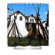 Rifles Of The Civil War Shower Curtain
