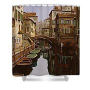 Riflesso Scuro Shower Curtain