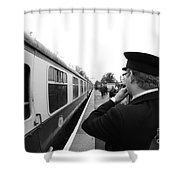 Right Of Way Shower Curtain