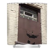 Right To Arm Bears Shower Curtain